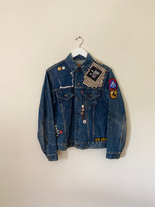 1970's Levi's Type III Punk Denim Jacket (M)