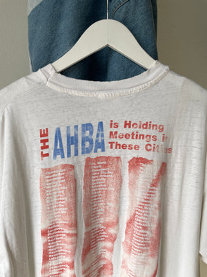 "1990's Garth Brooks ""AHBA"" Distressed Shirt (L/XL)"