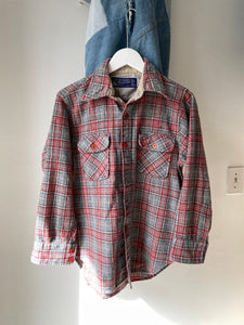 1980's JC Penney Flannel (S/M)
