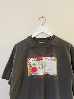 1990's Frank Lloyd Wright Architecture T-Shirt (L/XL)