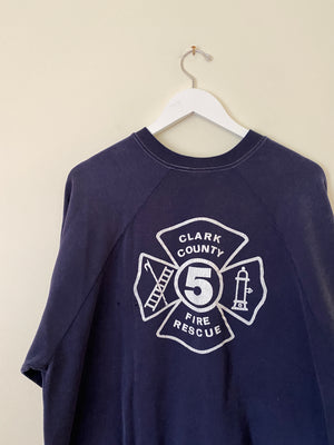 1980's Clark County Fire & Rescue Crewneck (L/XL)