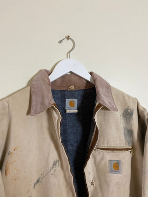 1990's Carhartt Sun Faded Detroit Jacket (XL)