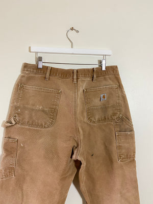 1990's Carhartt Double Knee Pants (34 x 32)
