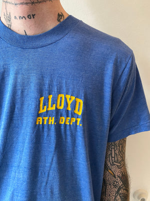 1980's Lloyd Athletic Dept Shirt (L)