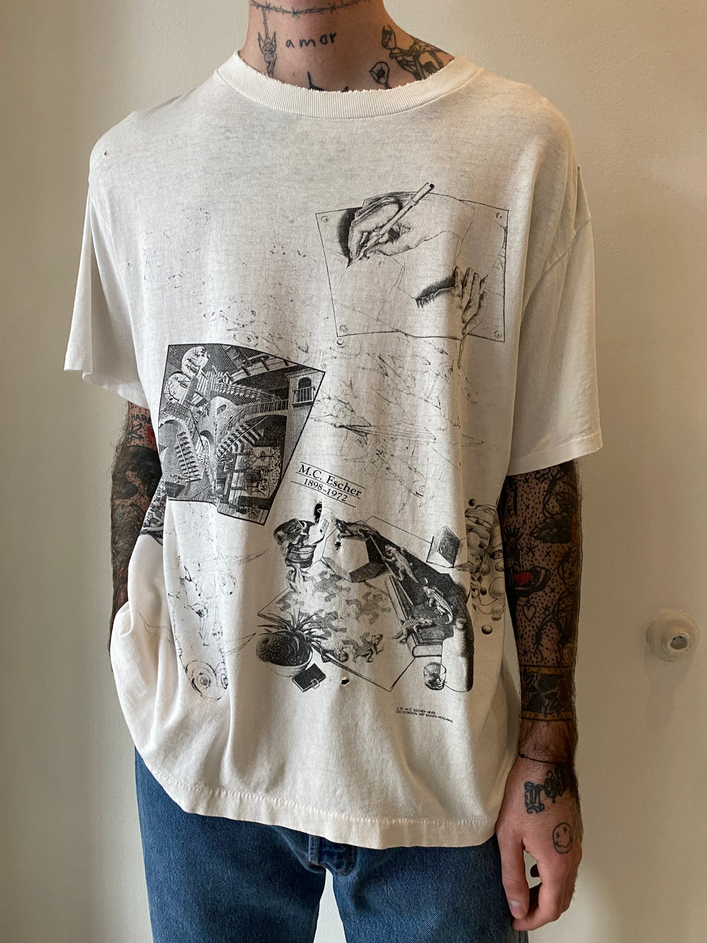 1990's MC Escher Shirt (L/XL)