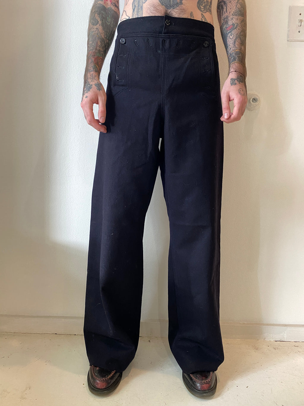 1950's USN Wool Sailor Pants