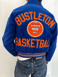 1990's Bustleton Basketball Varsity Jacket (S/M)