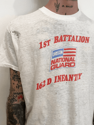 1980's Oregon National Guard Shirt (M)