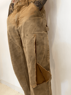 1990's USA Carhartt Double Knee Work Pants (30 x 30)