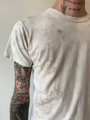 1980's Distressed and Worn Blank Shirt (S)