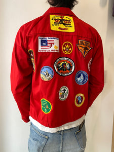 1970's Boy Scouts Harrington Jacket (S)