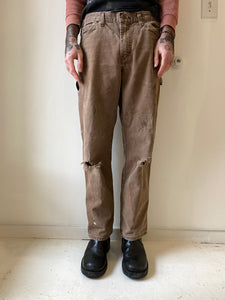 1990's Dickies Brown Work Pants (32 x 30)