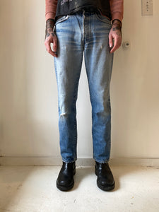 1980's Levi's 501 XX USA Light Wash Jeans (30 x 31)
