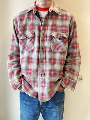 1980s Sears Padded Flannel Jacket (L)