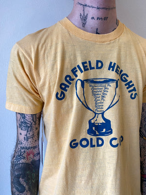 1980's Garfield Heights Gold Cup Shirt (S)