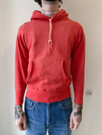 1960's Sun Faded Red Hoodie (S)