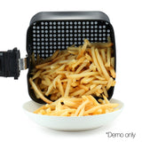 3L Air Fryer Low Fat Oil Less Cooking Health Multi Cooker W/ Recipe White