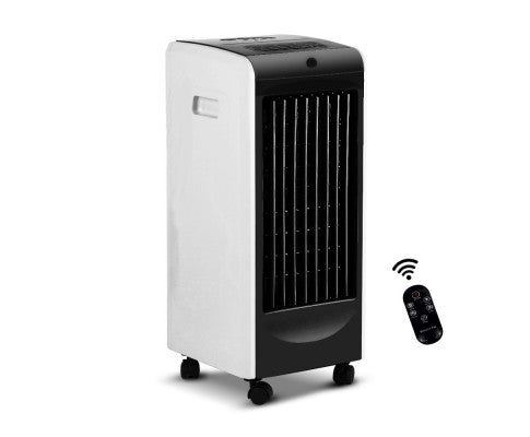 Evaporative Air Cooler Black With Remote