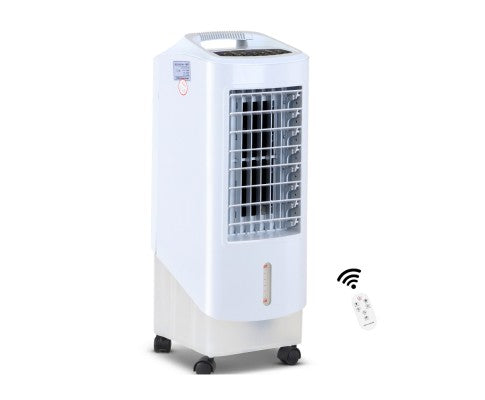 Portable Evaporative Air Cooler White With Remote
