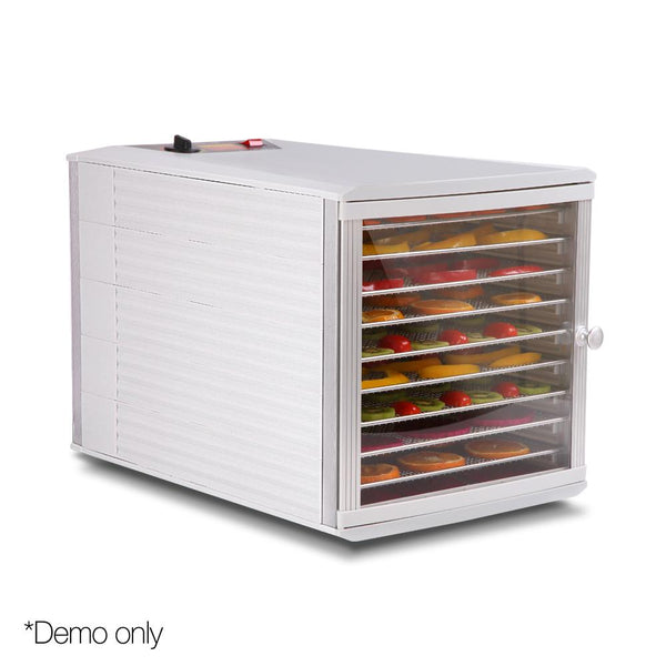 Stainless Steel Commercial Food Dehydrator with 10 Trays