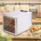10 Tray Stainless Steel Trays Food Dehydrator For Home Or Commercial Use To Preserve Dry Fruits Or Meats