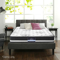 Queen Mattress Euro Top Cool Gel Infused Memory Foam Pocket Spring Bed 34cm