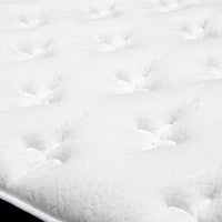 Queen Size Plush Euro Top 5 Zoned Pocket Spring Mattress Medium 31cm
