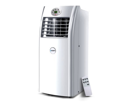 Portable Air Conditioner 4-In-1 Mobile Fan Cooler Dehumidifier 18000BTU