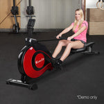 Rowing Machine Exercise Resistance Rower Magnetic Flywheel Gym Fitness 10 Levels