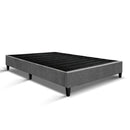 Queen Size Bed Base Frame - Grey