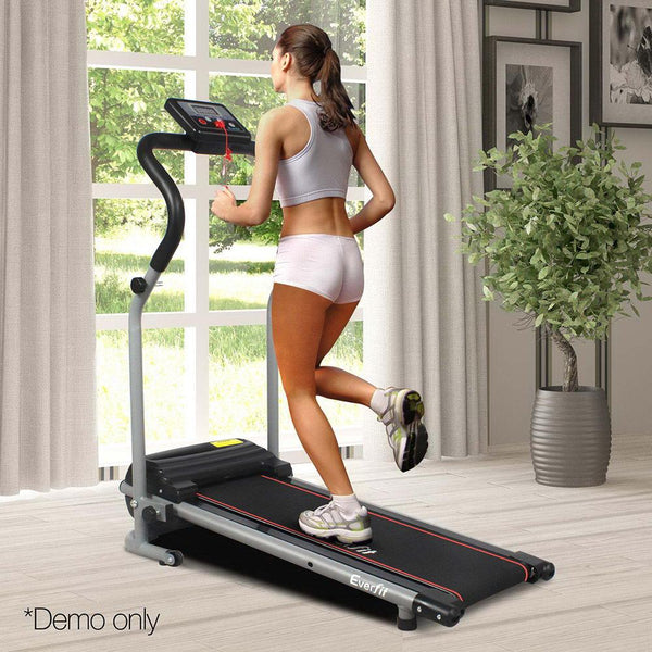 Treadmill Home Gym Electric Exercise Machine Powered Fitness Equipment 6 Speed Levels