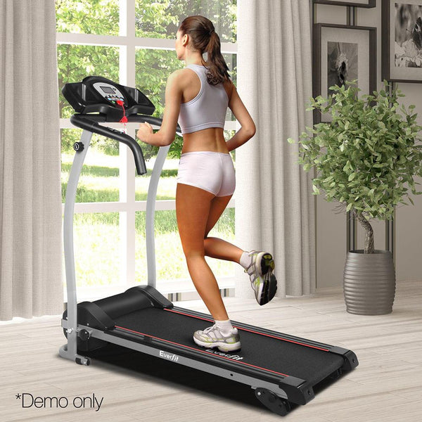 Treadmill Home Gym Electric Exercise Machine Powered Fitness Equipment 12 Speed Levels