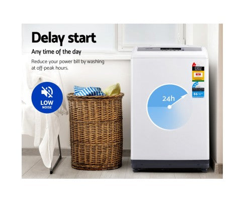 8.5kg Top Load Washing Machine Multiple Washing Programs Six Water Levels