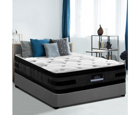 36CM King Single Size Flippable Hotel Grade Mattress 2 Type Firm Double Sided Cool Gel Euro Top