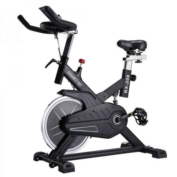 RX-200 Exercise Spin Bike Cardio Cycle Black