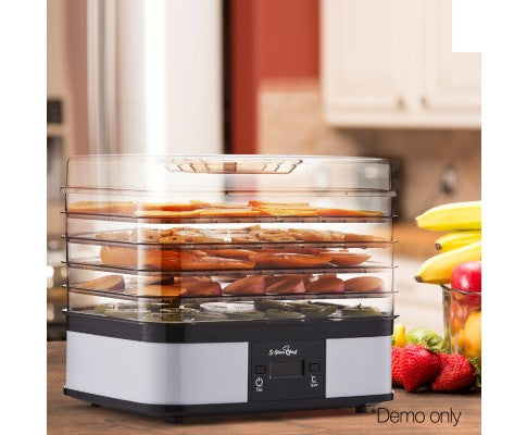 Food Dehydrator With 7 Trays White Dried Food Snacks
