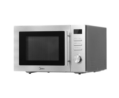 34L 2100W Electric Convetion Microwave Oven Kitchen Bench Silver