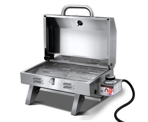 Portable Stainless Steel Gas BBQ Heater Outdoor Grill Cooking