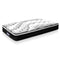 King Single Mattress Euro Top 5 Zone Pockets Springs High Resilience Foam Medium Firmness