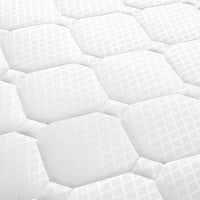 King Single Pocket Spring Mattress High Density Foam 21cm