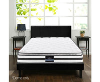 21cm Thick Bonnell Springs Mattress King High Resilience Foam Medium Firm Free Shipping