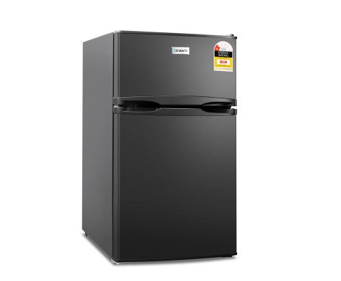 85L Bar Fridge & Freezer - Black