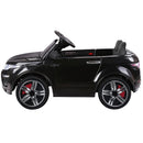 Childs Ride On Car Electric Ute With Remote Music Battery Range Rover EVOQUE Style Black