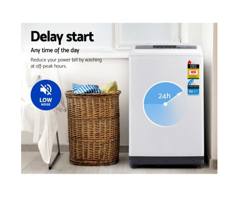 7kg Top Load Washing Machine Multiple Washing Programs  Six Water Levels