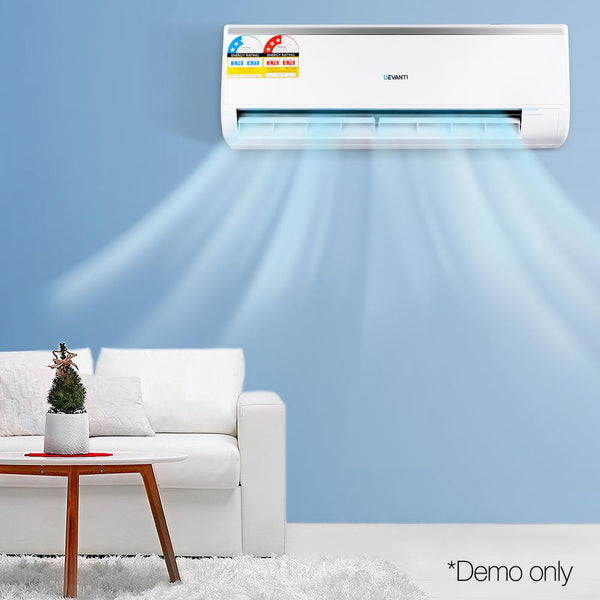 2.7KW Reverse Cycle Air Conditioner Split System Cooling / Heater