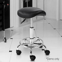 Salon Swivel Chairs Fully Height Adjustable Hair Beauty Salons Black