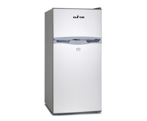 2-in-1 Freezer Fridge 100L Fridge Capacity: 80L Freezer Capacity: 20L