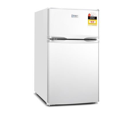 85L Bar Fridge & Freezer - White