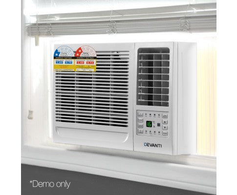 2.6KW Window Wall Box Refrigerated Air Conditioner Cooling Fan Heating Reverse Cycle