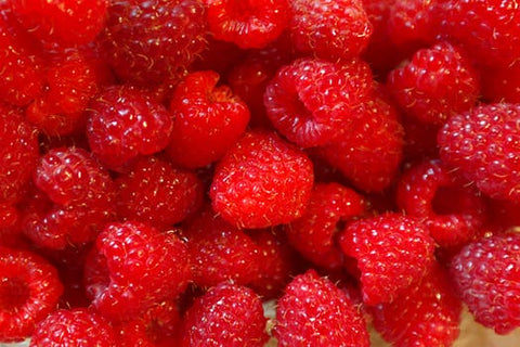 Raspberries are the second healthiest berry